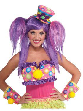 Circus Sweetie Mini Top Hat for Adults