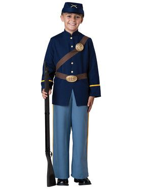 Civil War Soldier Child Costume