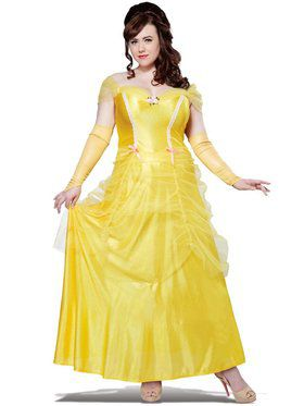 Classic Beauty Women's Plus Size Costume