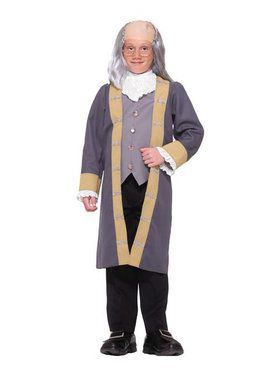 Classic Ben Franklin Costume for Boys
