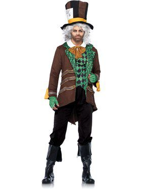 Classic Mad Hatter Men's Costume