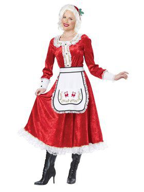 Classic Mrs. Claus Women's Costume