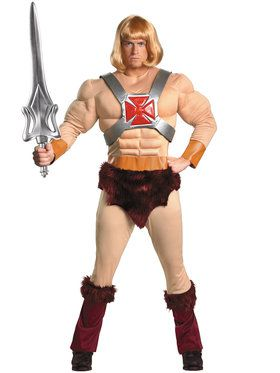 Classic Muscle Masters of the Universe He-Man Adult Costume