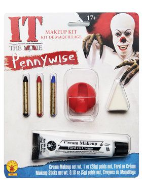 Classic Adult Pennywise Make-up Kit