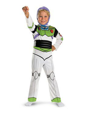 Classic Toy Story Buzz Lightyear Costume for Boys