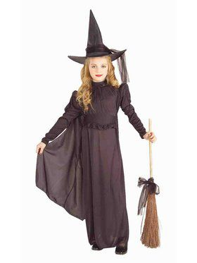 Classic Witch Child Costume