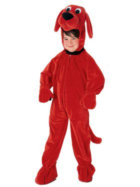 Clifford the Big Red Dog Child Costume