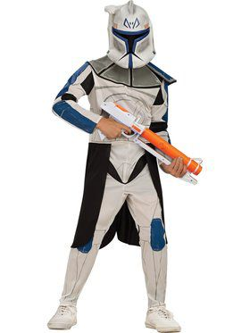 Child Leader Rex Costume - Star Wars Clone Wars