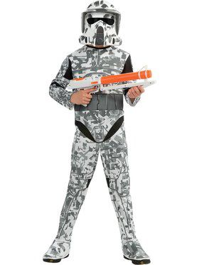 Clone Wars Arf Trooper Costume for Boys