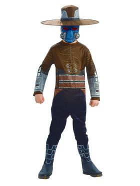 Star Wars Boys H/ S Cad Bane Costume