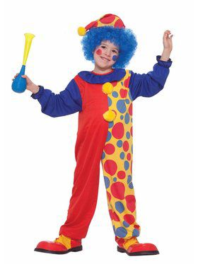 Boys Child Clown Costume