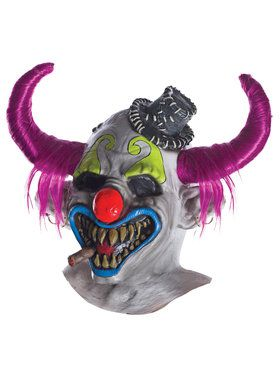 Clown Latex Mask by DJ Ashba