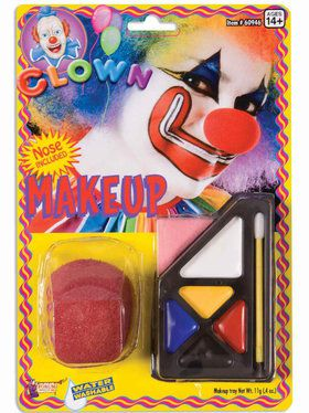 Clown Make Up Kit Men's
