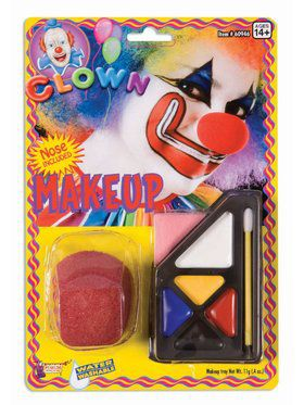 Clown Make Up Accessory Kit