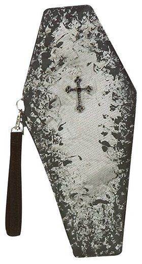 Coffin Clutch Handbag