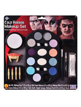 Cold Horror Makeup Kit