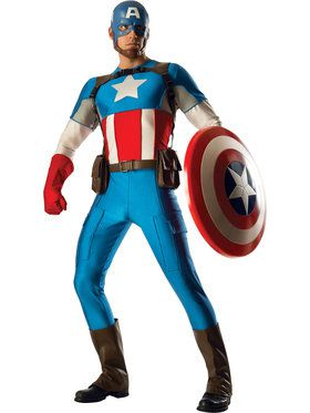Collector Captain America Marvel Universe Mens Costume