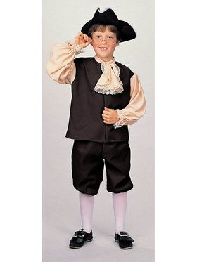Colonial Boy Small 4-6 for Halloween