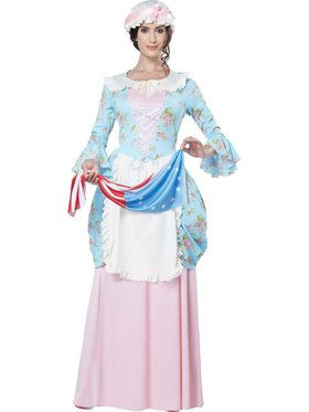 Colonial Lady Betsy Ross Costume Womens Costume