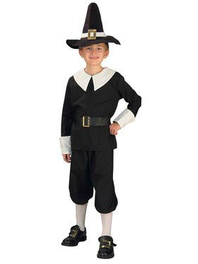 Colonial / Pilgrim Boy Child Costume