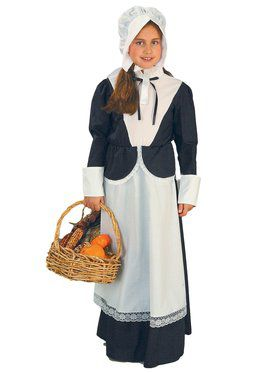 Colonial / Pilgrim Girl Costume