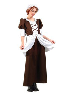 Colonial / Pilgrim Lady Adult Costume