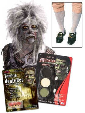 Colonial Zombie Hocus Pocus Movie Character Accessory Kit