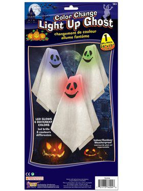 Color Changing Light Up Ghosts Decorations