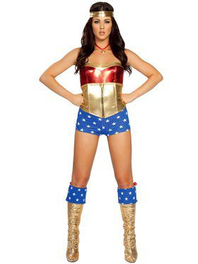 Comic Book Heroine Costume