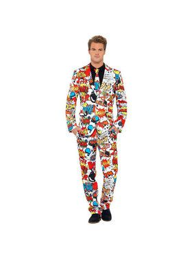Comic Suit Men's Costume