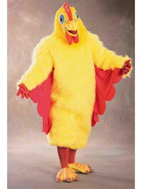 Comical Chicken Costume For Adults