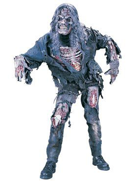 Complete 3-d Zombie Mens Costume