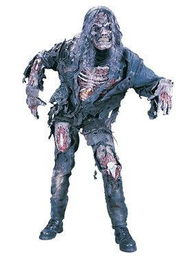 Complete 3-D Zombie Costume For Teens