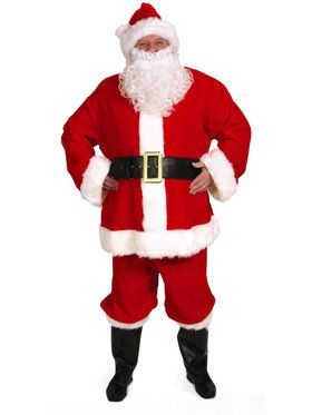 Complete Santa Suit Costume For Adults