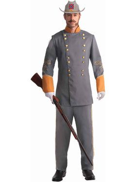 Confederate Officer Costume For Adults