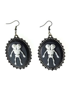 Conjoined Twins Earrings