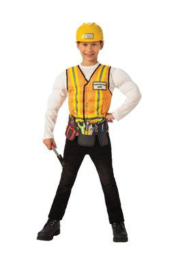 Kids Construction Worker Costume