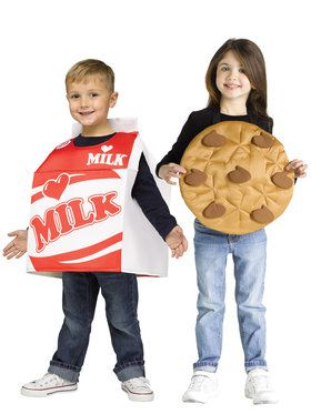 Toddler Cookies and Milk Costume