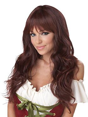 Coquette (Brunette) Wig For Adults