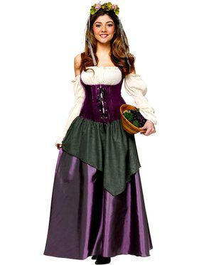 Corset Tavern Wench Adult Costume