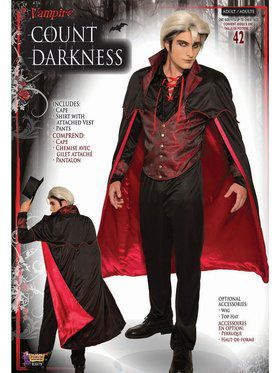 Count Darkness Adult Costume