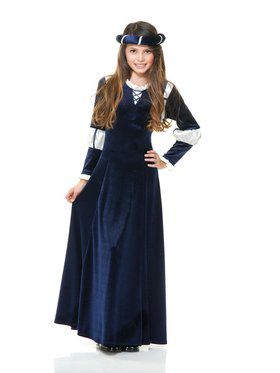Girl's Country Peasant Costume