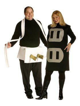 Couples Plus Size Plug & Socket Costume
