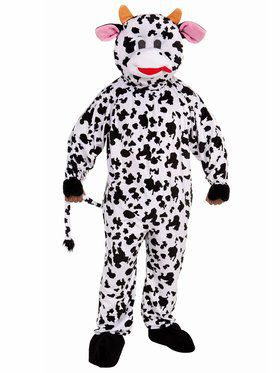 Cow Mascot Adult Costume