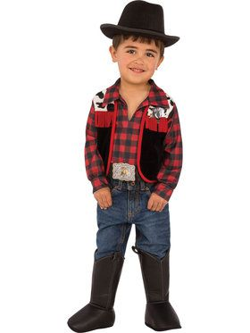 Kid Wild West Cowboy Costume