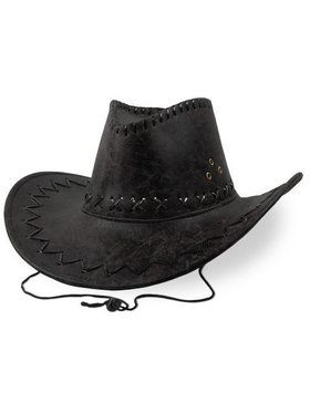 Cowboy Hat - Faux Leather