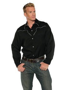Cowboy Shirt Men's Costume