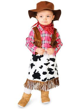 Baby Cowgirl Princess Costume For Babies