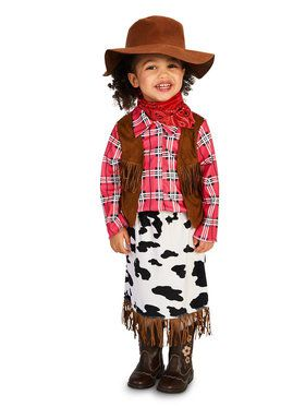 Cowgirl Princess Costume For Toddlers