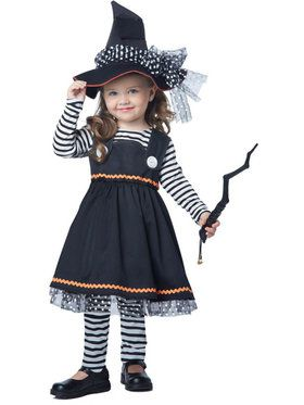 Crafty Little Witch Costume Toddler